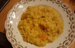 Risotto à la courge