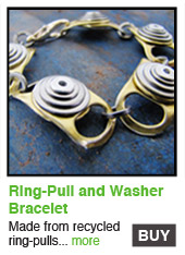 Ring-Pull and Washer Bracelet
