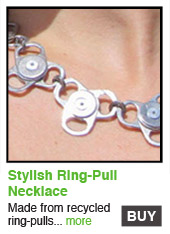 Stylish Ring-Pull Necklace