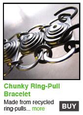 Chunky Ring-Pull Bracelet
