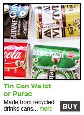 Tin Can Wallet/Purse