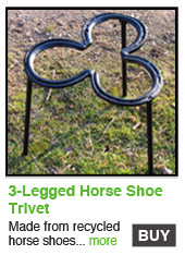 3-Legged Horse Shoe Trivet