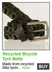 Recycled Bike Tyre Belt