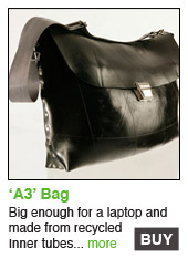 A3 Recycled Laptop Bag