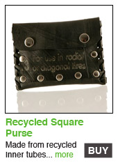Recycled Square Purse