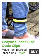 Recycled Cycle Straps
