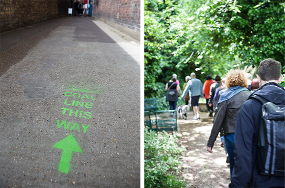 Peckham Coal Line fundraising walk