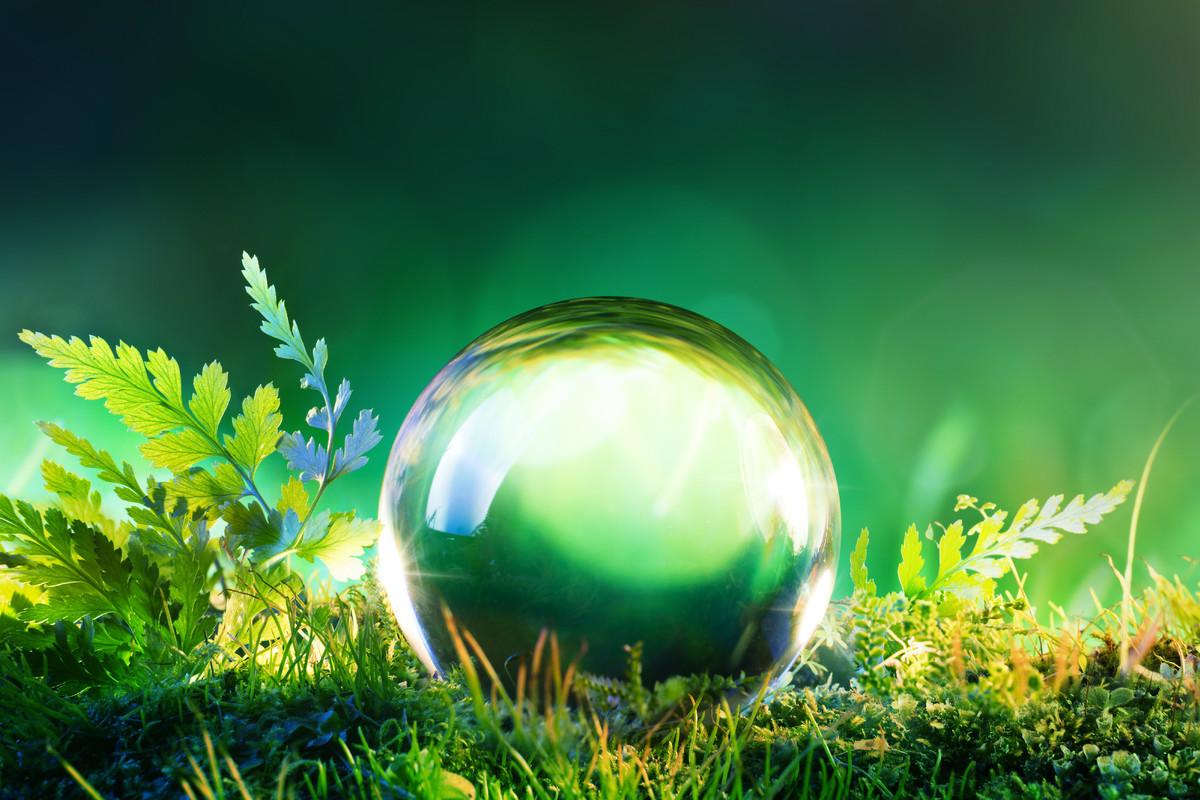 Crystal ball nature 1200 x 800