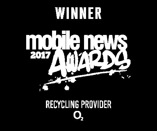 Winner mobile news 2017 awards Recycling provider O2