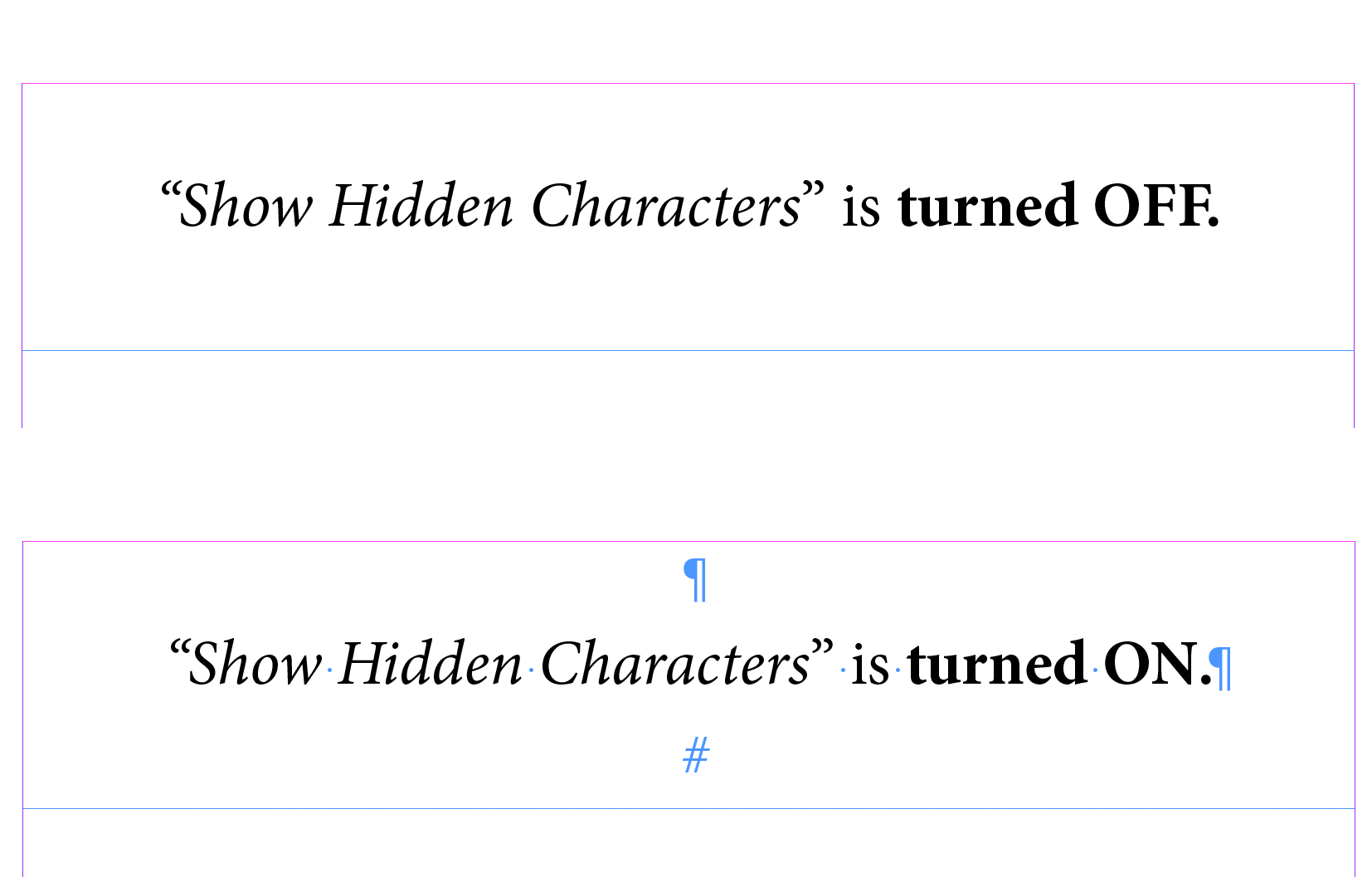 Show Hidden Characters Indesign Step By Step Guide Redokun