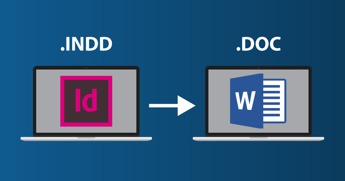 Indesign To Word 4 Minutes Tutorial Redokun