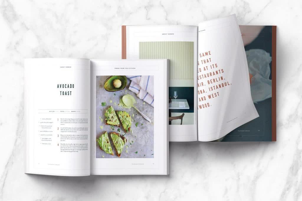 Book template photo
