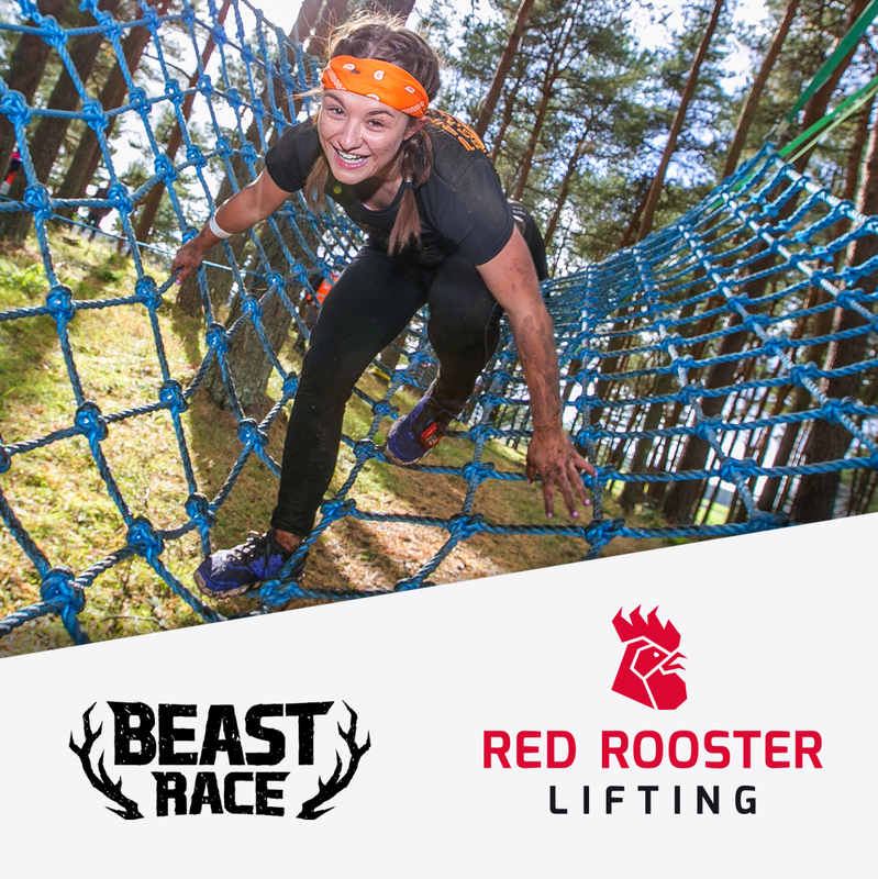 Red Rooster Lifting announced as associate sponsor of the Beast Race 2019