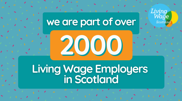 RED ROOSTER LIFTING PROUD TO BE A PART OF LIVING WAGE SCOTLAND