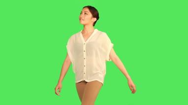 Female walking
