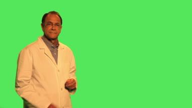 Scientist examening