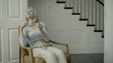 Senior Adult female at home