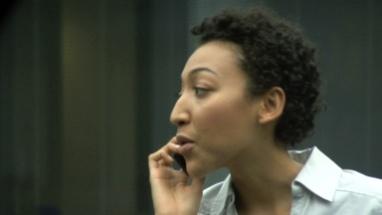 CU FEMALE ON PHONE TALKING