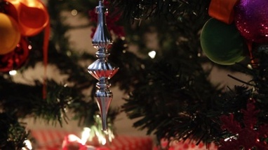 Close up of christmas decoration