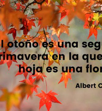 el otoño es una segunda primavera-regalva
