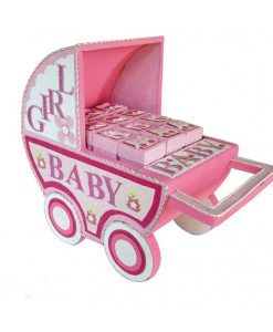 EXPOSITOR CARRO BABY ROSA (SOLO EXPOSITOR)