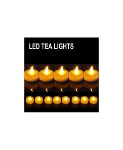 VELAS LED DECORACIîN (SIN CERA