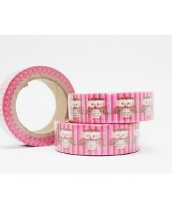 CINTA ADHESIVA WASHI TAPE 15 MM X 10 METROS DS-116