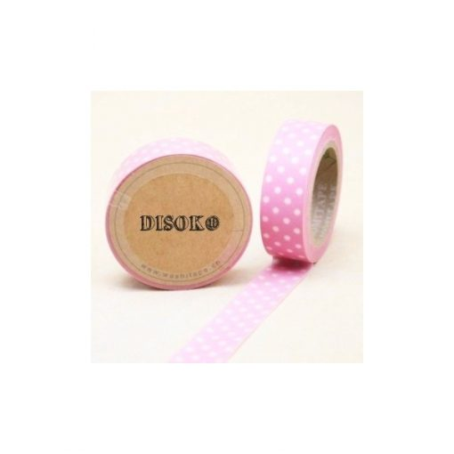 CINTA ADHESIVA WASHI TAPE 15 MM X 10 METROS DS-118