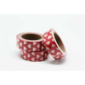 CINTA ADHESIVA WASHI TAPE 15 MM X 10 METROS DS-121