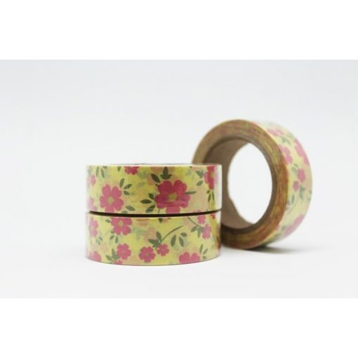CINTA ADHESIVA WASHI TAPE 15 MM X 10 METROS DS-107