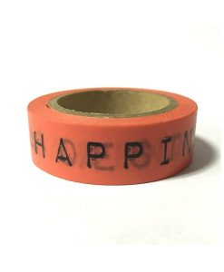 "WASHI TAPE ""HAPPINESS IS"""