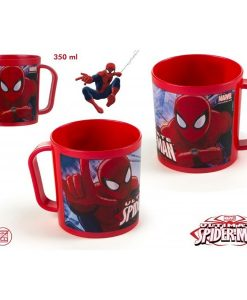 TAZA SPIDERMAN 350ML