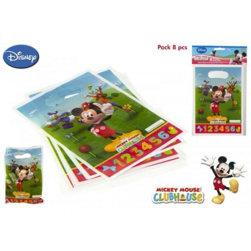 PACK 8 BOLSITAS PARTY MICKEY