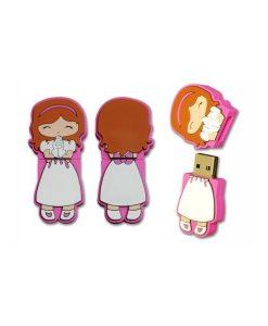 """MEMORIA USB NI""""A COMUNIîN 2GB"""