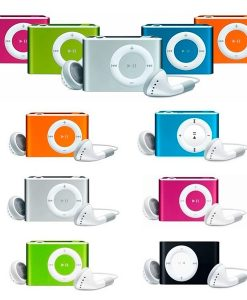 MP3 PLAYER CLIP + AURICULARES + CABLE USB EN CAJA