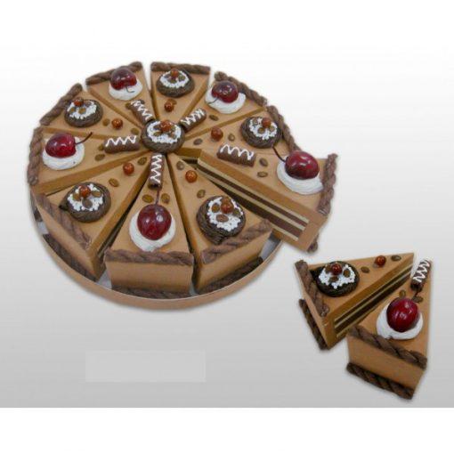 SET 10 CAJAS PORCIîN PASTELITO + DISPLAY CHOCOLATE