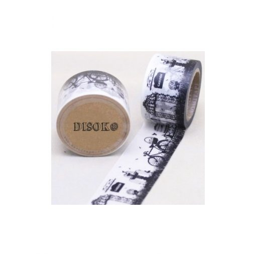 CINTA ADHESIVA WASHI TAPE 30 MM X 10 METROS DS-103