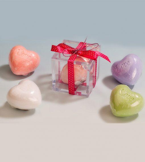 Jabón love en caja de regalo