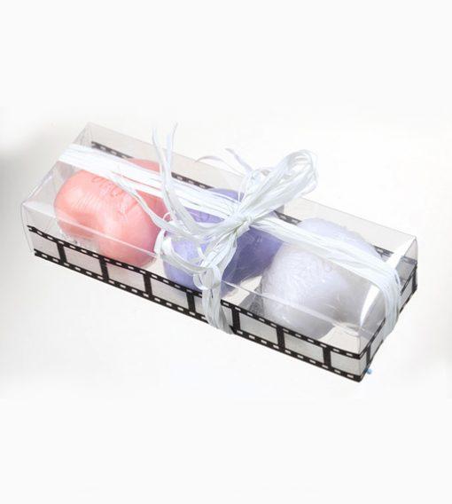 Jabones love en caja de regalo