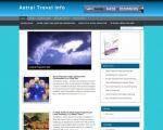 Astral Travel Blog Website