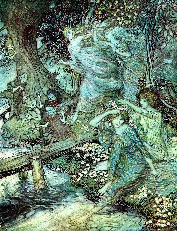 Fairy Tree Spirit Energy Attunement
