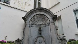 Manneken Pis in Brüssel