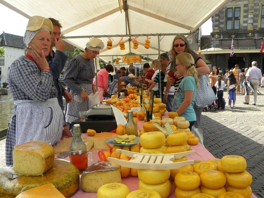 Der berühmte Käsemarkt in Alkmaar