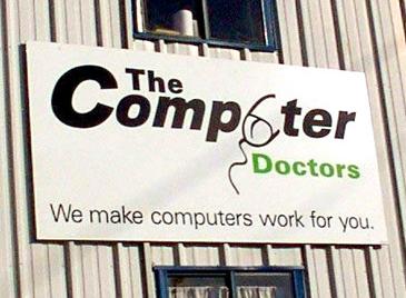 computer logo design