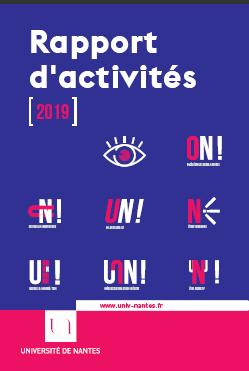Rapport d'activité 2019 - Université de Nantes