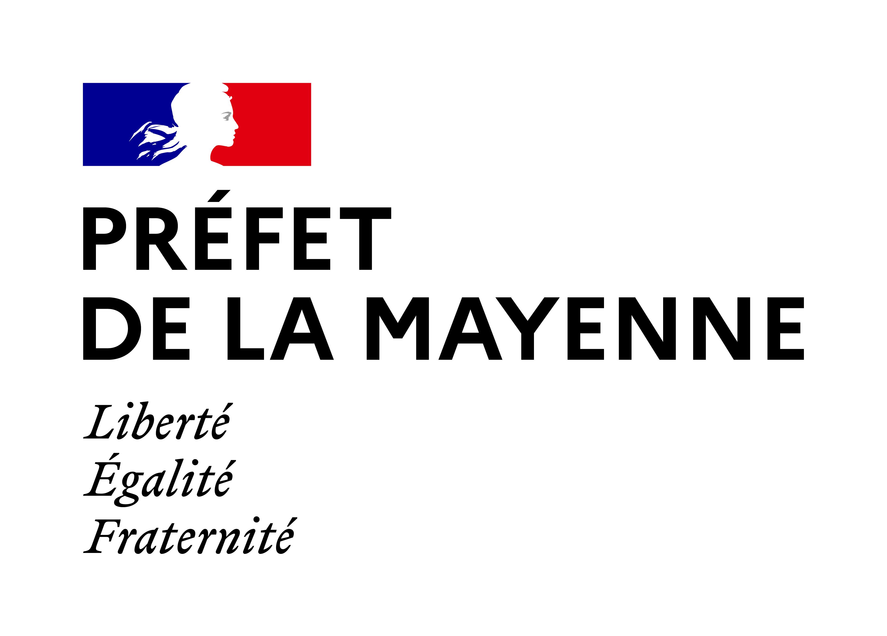 Logo de Préfecture et directions départementales interministérielles de la Mayenne