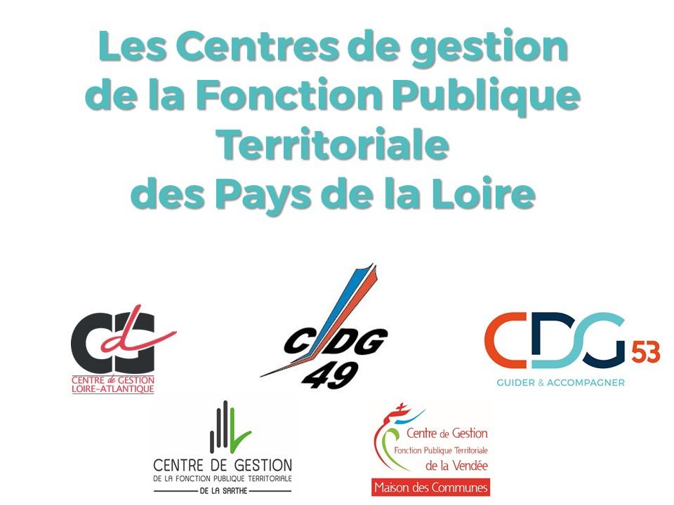 Logo de Les Centres de gestion de la fonction publique territoriale (CDG) des Pays de la Loire