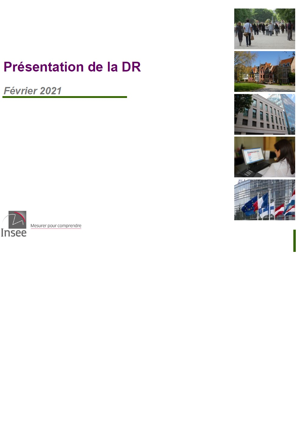 Présentation Direction Régionale des Pays de la Loire