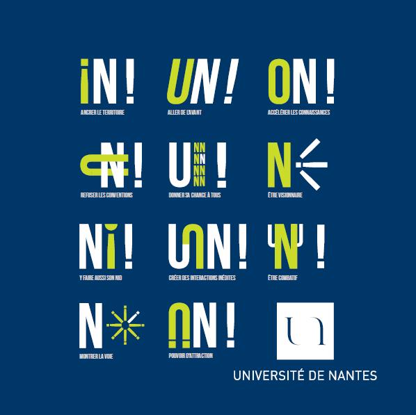 Plaquette de l'Université de Nantes