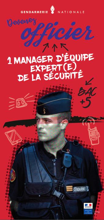 Plaquette officier